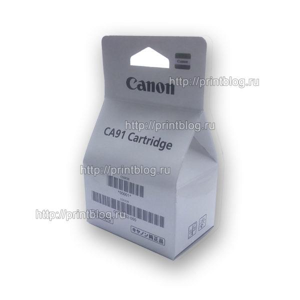 QY6-8002 Печатающая головка чёрная для Canon G1400, G2400, G3400
