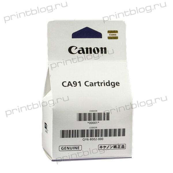 QY6-8002, QY6-8011 Печатающая головка черная для Canon G1400, G2400, G3400, G4400, G1410, G2410, G3410, G4410