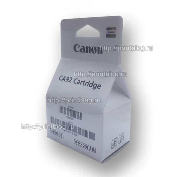 QY6-8018, QY6-8006 Печатающая головка цветная Canon G1400, G2400, G3400