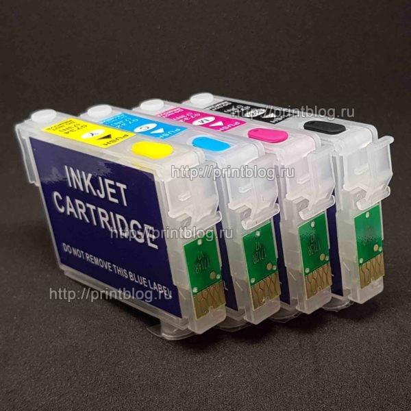 Картриджи (ПЗК, ДЗК) для Epson XP-103, XP-303, XP-207, XP-203, XP-406, XP-306, XP-33, XP-403, XP-313, XP-413, XP-423, XP-323 (T17)