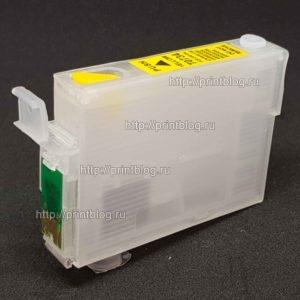 Картриджи (ПЗК, ДЗК) для Epson TX210, TX410, TX209, T40W, TX200, TX300F, CX3900, CX7300, CX8300 и др. (T0731-T0734)