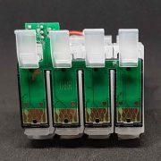 Картриджи с чипом, с батарейкой для СНПЧ Epson S22, SX130, SX125 _