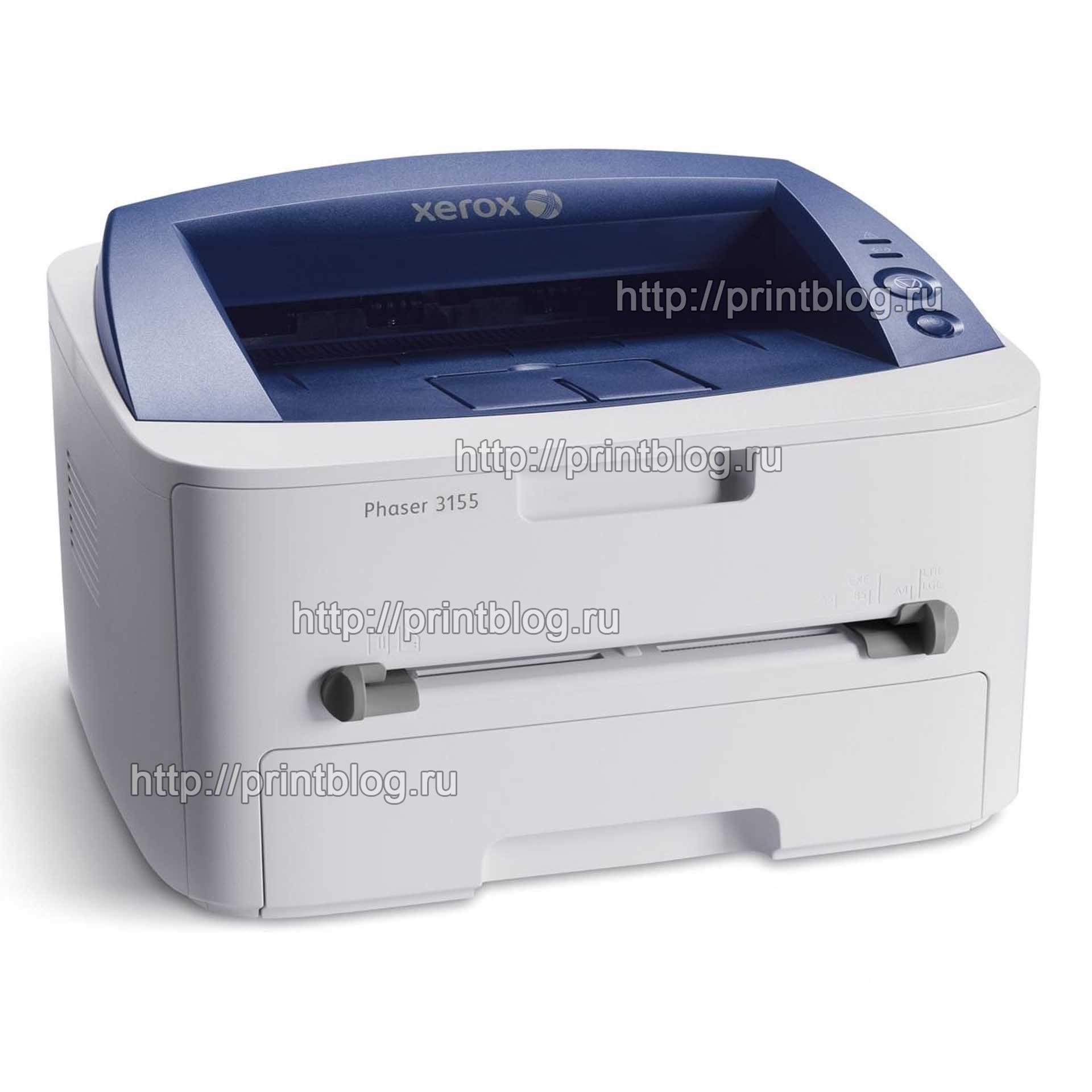Прошивка Xerox phaser 3155 для работы без чипов