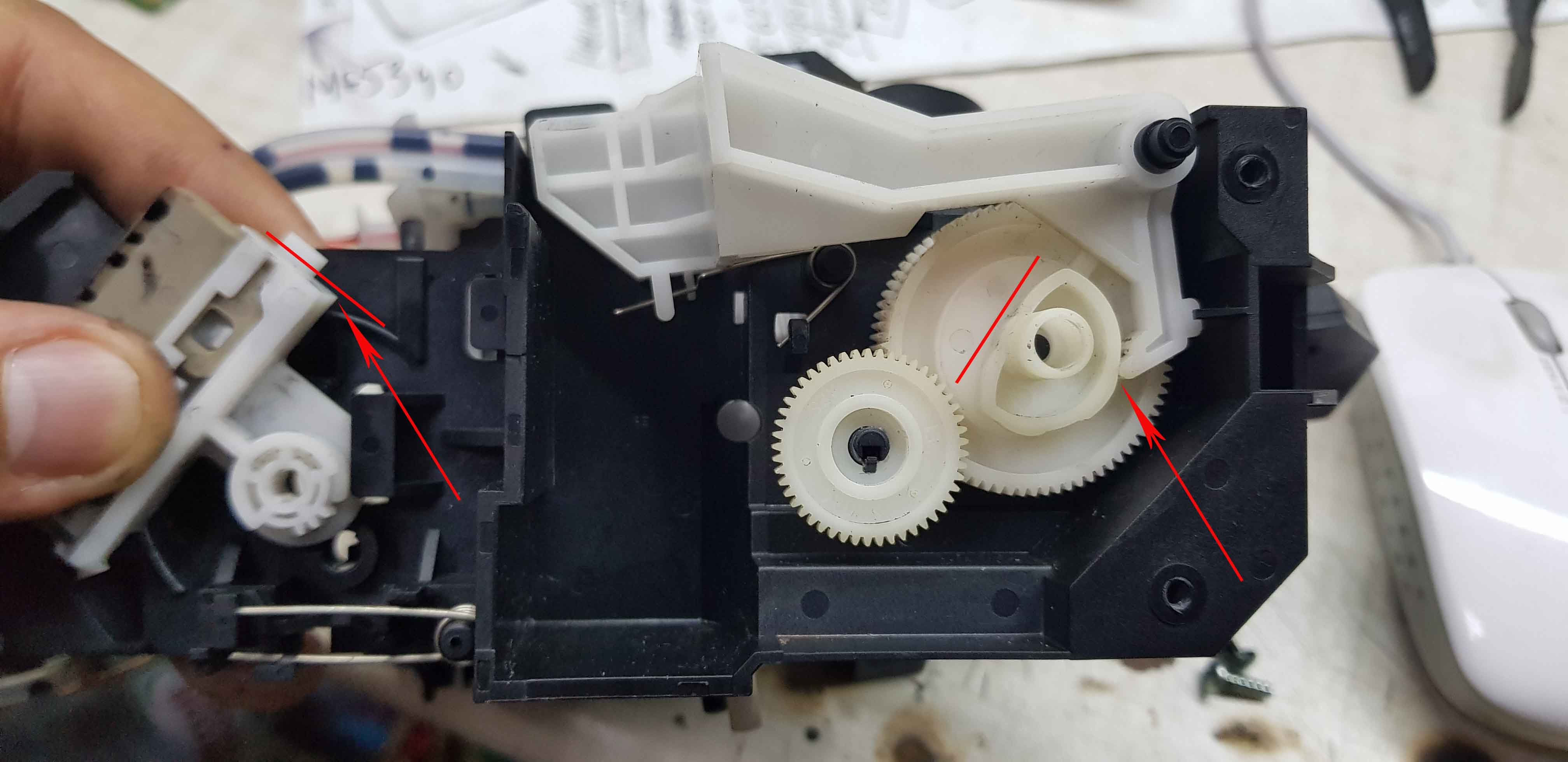 Как собрать помпу на принтере Epson 1410, L1800, L1300, T1100, R2400, R1900 и др.