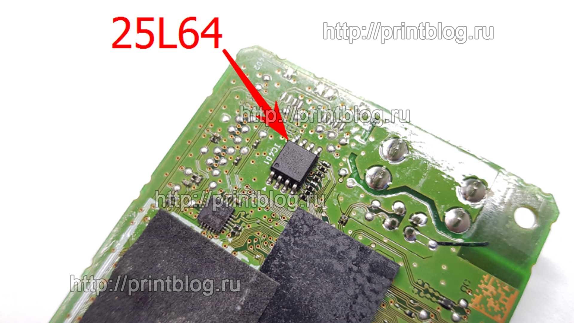 Сброс памперса Canon PIXMA MG3040 (MG3000) Ошибка 5B00 _33