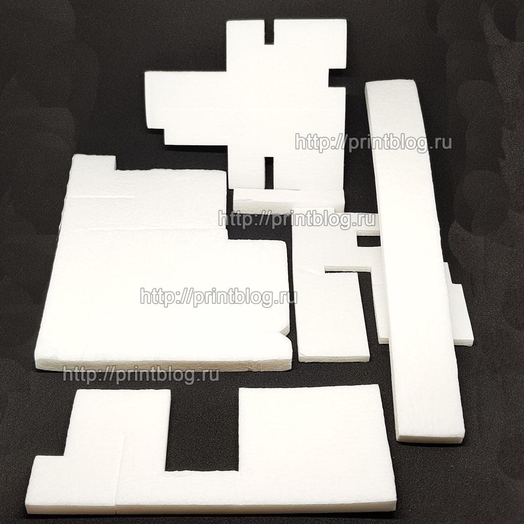 Памперс, абсорбер, впитывающая прокладка для Canon Pixma G1400, G2400, G3400 и др.