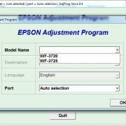 Adjustment program Epson WF-3720, WF-3725 (сброс памперса) _2