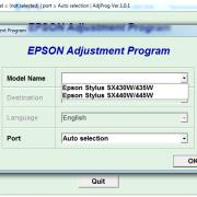 Adjustment program для Epson Stylus SX430W, SX435W, SX440W, SX445W _3