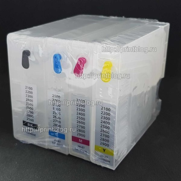 Картриджи (ПЗК) для Canon MAXIFY MB5040, MB5140, MB5340, MB5440, iB4040, iB4140