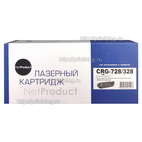 Картридж-NetProduct-N-№728-328