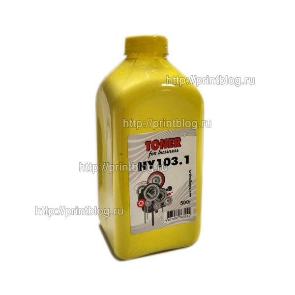 Тонер-HP-CLJ-CP1210-Universal-Yellow-500г.-фл.-Булат-HY103