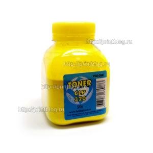 Тонер-Samsung-CLP-320-Yellow-50г.-Булат-300310315325316031703175