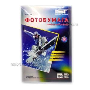 Фотобумага-IST-односторонняя-глянцевая-4R-100x150мм-180-гр.м-100л-G180-6004R