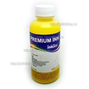 Чернила-HP-InkTec-H8940-100MY-Yellow-Pigment-жёлтые-пигментные-100