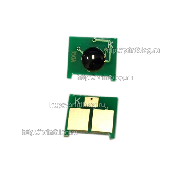 Чип картриджа HP CF350A Black для HP CLJ M153, M176, M177 (H-CF350A-K-1.3K)