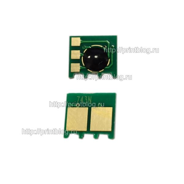 Чип картриджа HP CE743A (Magenta) для HP LaserJet PRO CP5225, 5220