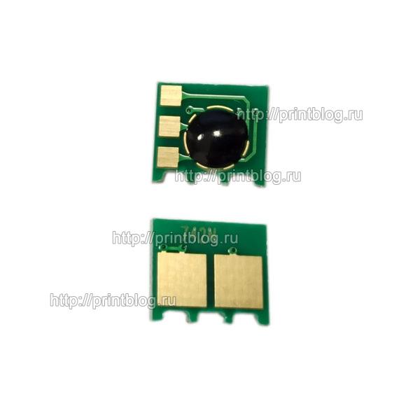 Чип картриджа HP CE742A (Yellow) для HP LaserJet PRO CP5225, 5220