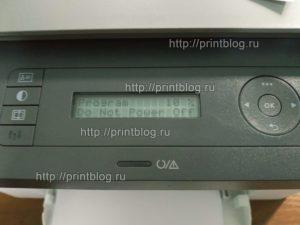 Прошивка HP Laser MFP 135a, 135w для работы без чипа картриджа