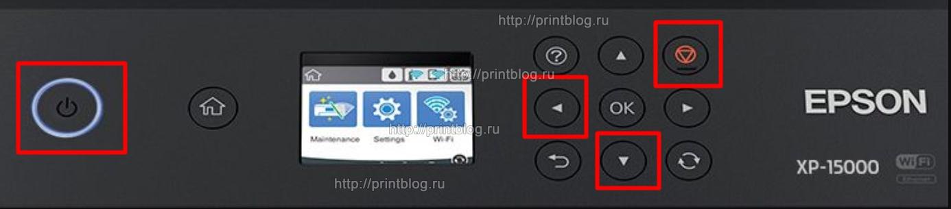 Бесчиповая прошивка для Epson XP-15000, XP-15010, EP-50V