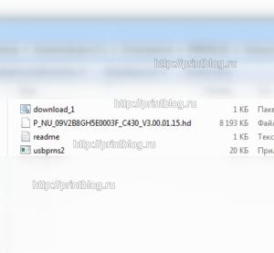 Прошивка Samsung Xpress C430 и С430W для работы без чипа картриджа