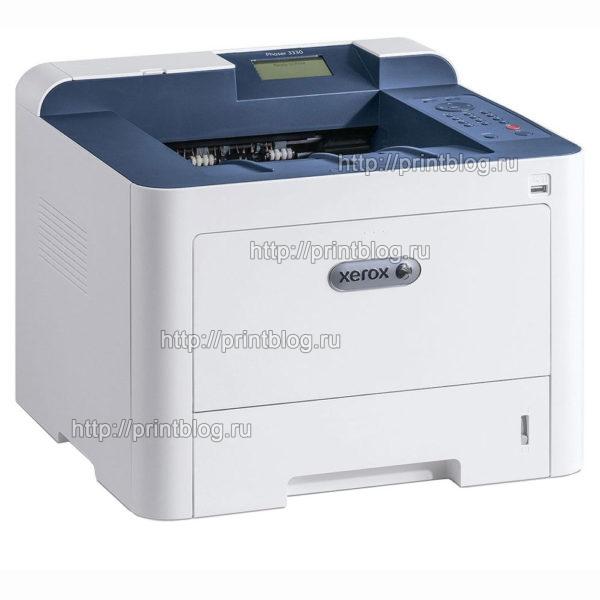 Прошивка Xerox Phaser 3330 для работы без чипа картриджа