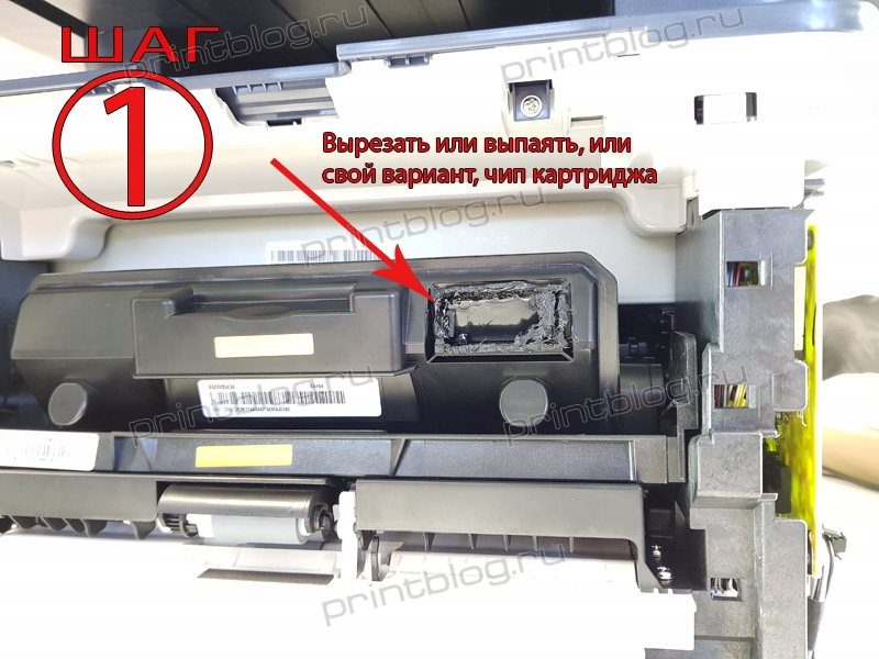 Прошивка Xerox WorkCentre 3345 для работы без чипа картриджа