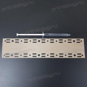 Тканевая накладка прижимной планки фьюзера для FK-1150 Kyocera Ecosys M2040, M2235, M2540, M2735, P2335, M2835, P2040, P2335 и др.