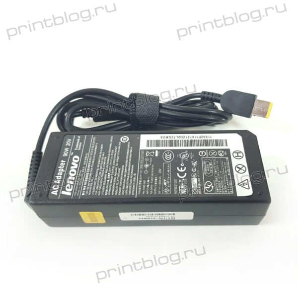 Блок питания для ноутбука Lenovo 20V, 4.5A (USB)