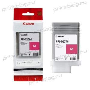 Картридж Canon PFI-107 Magenta 130 мл