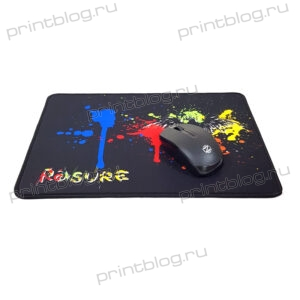 Коврик для мышки игровой G2 размер 330x225x4 мм (Rasure aplication)
