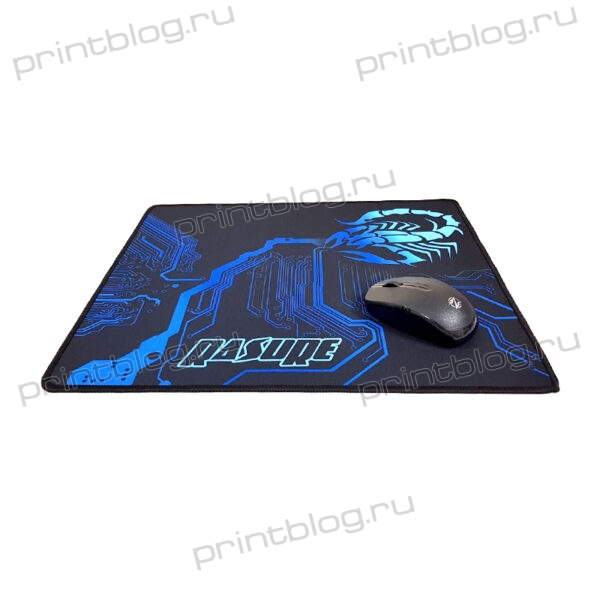 Коврик для мышки игровой G6 размер 395x350x3 мм (Rasure scorpion)
