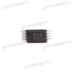 Микросхема 24C16 (4G16) TSSOP-8