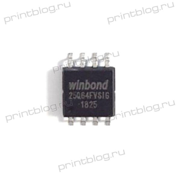 Микросхема 25Q64 Winbond (25Q64FVSIG)