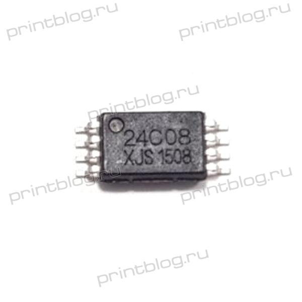 Микросхема M24C08 (4G08, 4C08, 24C08, 408RT) TSSOP-8