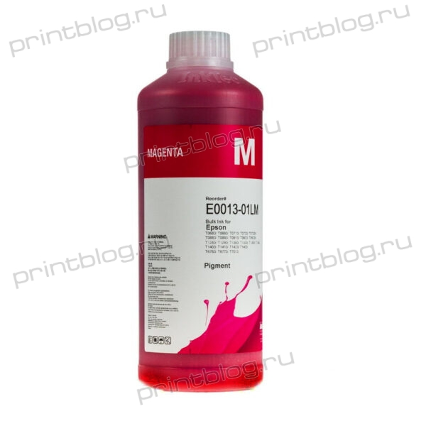 Чернила (краски) InkTec (E0013-01LB) Magenta (красные), пигментные, 1 литр