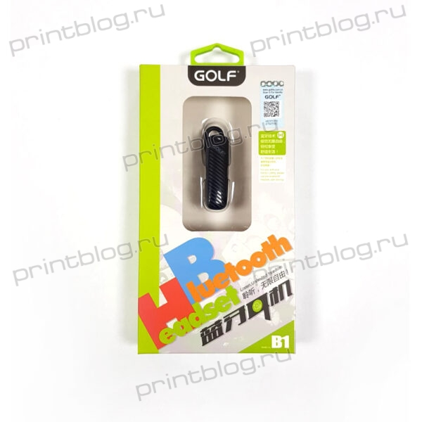 Гарнитура Bluetooth беспроводная Golf B1 (Моно)