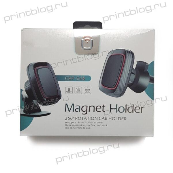 Держатель телефона магнитный в автомобиль (CXP-048)