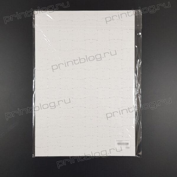 Пазл прямоугольный для сублимационной печати (200х290мм)