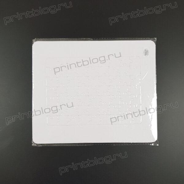 Пазл с прямоугольной рамкой для сублимационной печати (235х195мм)