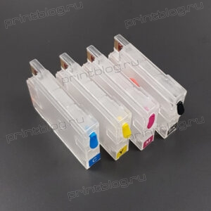 Перезаправляемые картриджи (ПЗК) для HP Designjet T120, T125, T130, T520, T525, T530