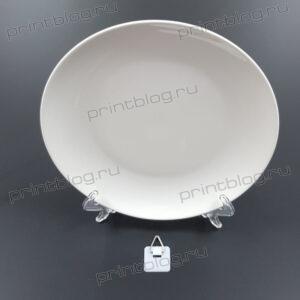 Тарелка для сублимационной печати (212х212х25мм)
