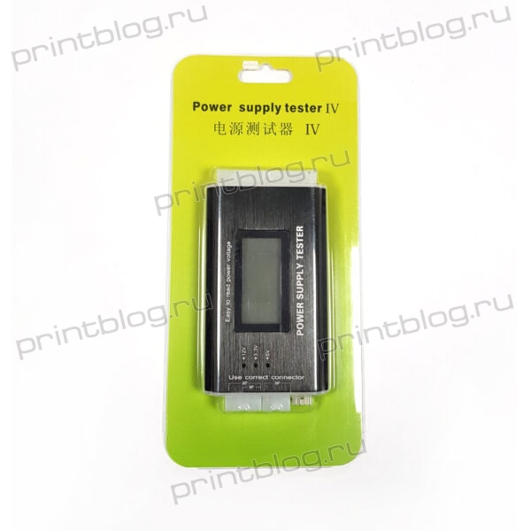 Тестер блоков питания АТХ 2024PIN (Power Supply Tester)