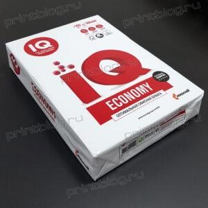 Бумага для офисной техники IQ Economy (А4, марка C, 80 гкв.м, 500 листов)