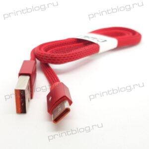 Кабель Micro USB, плоский, anrut, V8, 1м