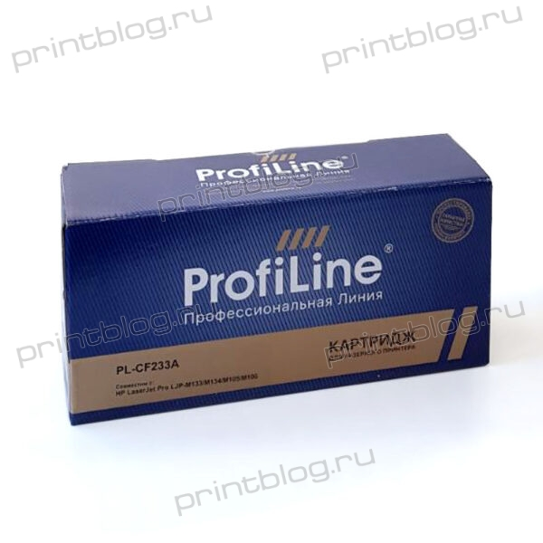 Картридж HP LJ CF233A (№33A) ProfiLine 2300стр. (Ultra M106w, M134a, M134fn)