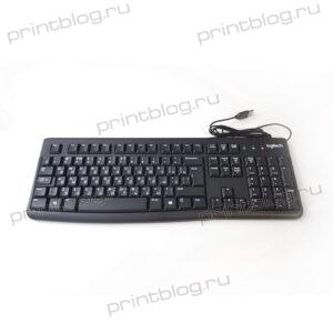Клавиатура Logitech K120, USB, черный (92-002522)