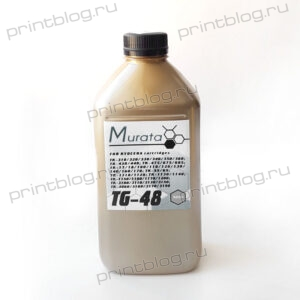 Тонер Kyocera TK-3160, 3170, 3190, 900г. Murata TG-48 Gold ATM (TK-3100, 3110, 3130)