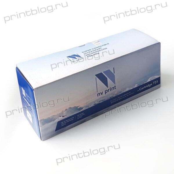 Картридж Canon 725 NV Print 1600 стр. (LBP 6000, 6000B, HP LJ P1102, P1102W)