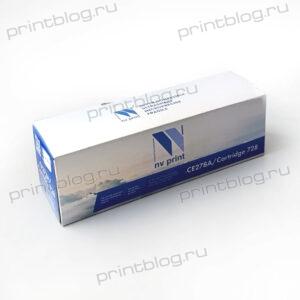 Картридж HP LJ CE278ACanon 728 NV Print 2100стр. (P1566P1606dnM1536 Canon LBP-6200MF4410)