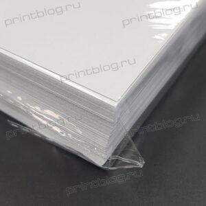 Фотобумага А4, матовая двухсторонняя, коном-класс, 220гм2, 100л.